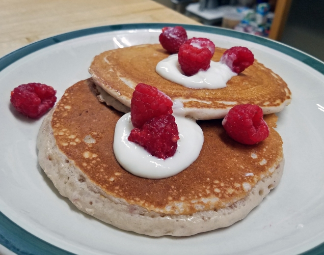 Raspberry Lemonade Pancakes Edited